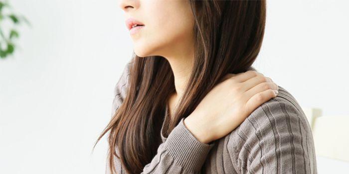 日常的疲労による肩こり